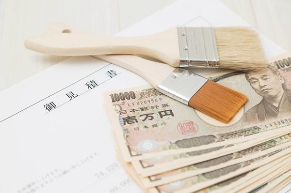各塗料の価格、耐用年数
