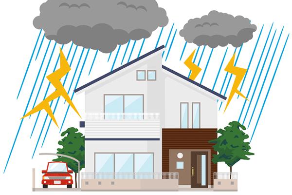 雨による影響