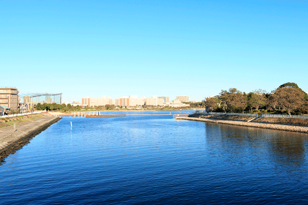 河川の近い地域