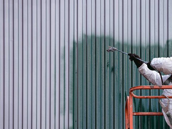 外壁塗装する